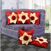 Double Floral Cushion Cover (Pack Of 5)(More Color)