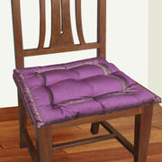Sprial Zari Lace Chair Pad by Dekor World  (MORE COLOR)