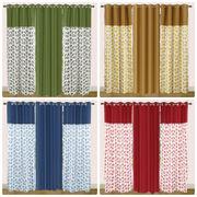 Cotton Floral Printed Curtain Set (Pack of 3 Pcs)by Dekor World (More Colour)