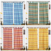 Cotton Printed  Curtain Set (Pack of 2)by Dekor World (More Colour)