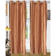 Stripe Curtain-Pack of 2 by Dekor World (More Colour)