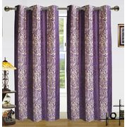 2in1 Altra Curtain(Pack of 2) by Dekor World (More Colour)