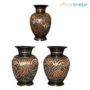 Dekor World Hand Crafted Flower Vase Set 2 Pcs