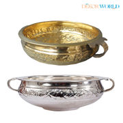 Dekor World Brass Gold Decorative Urli