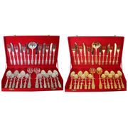 Dekor World Silver Plated Cutlery Set 27  Pcs
