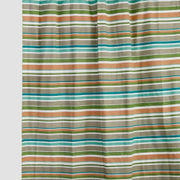 Multi Stripe Green Cotton  Fabric by Dekor World  (MORE COLOR)