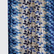 Garden Leaf Blue Fabric by Dekor World  (MORE COLOR)