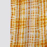 Lahariya Printed Yellow Cotton Fabric by Dekor World