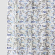 Big Leaf Blue Cotton  Fabric by Dekor World  (MORE COLOR)