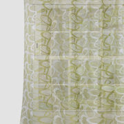Circular Green Net  Fabric by Dekor World  (MORE COLOR)