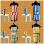 Stripe Apron Glove Set by Dekor World (MORE COLOR)