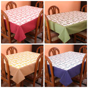 Floral Printed Table Cover (Pack of 1)(More Color & Size)