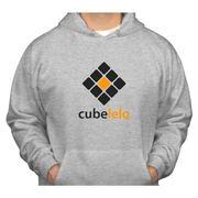 Cubelelo Grey Hoodie Sweatshirt