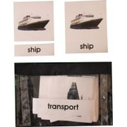 3 Part Nomenclature Cards: Transport