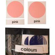 3 Part Nomenclature Cards: Colours