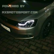MXSHL173 Projector Headlights Volkswagen Jetta with Audi style Day running light