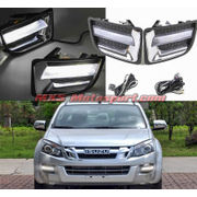 MXS2517 LED Fog Lamps Daytime running Lights ISUZU D-Max