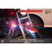 MXS1927 Cree LED Flasher Fog Lamp LED Projector Harley Motorcycle