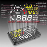 MXS2456 Bluetooth Gauge Display OBDII MPH KM/h Speeding Warning System