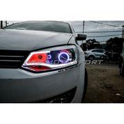 MXSHL25 Shark Eye Projector Headlights Day running light Volkswagen POLO