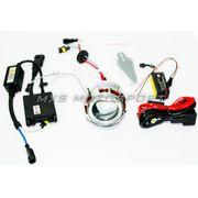 Bajaj Pulsar 150 HID BI-XENON Projector Blaster Robotic Angel Eye Kit
