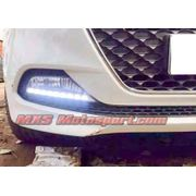 MXS1913 LED Fog Lamps Day Time running Light for Hyundai i20 Elite
