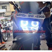 MXS1935 Angel Eyes Halo Ring KTM RC200 Bike Motorcycle COB LED With Indicator