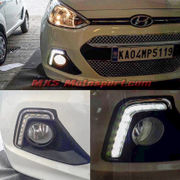 MXS2574 Hyundai Xcent LED Fog Lamps Day Time running Light