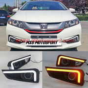 MXS2296 LED Fog Lamps Day Time running Light Honda City i-Dtec