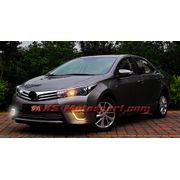 MXS2351 LED Fog Lamps Day Time Running Light Toyota Corolla Altis 2014-2016