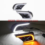 MXS2353 LED Fog Lamps Day Time Running Light Toyota Innova 2013