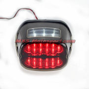 MXS2472 Red Led Brake Running Tail Light For Harley