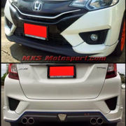 MXS2475 Honda Jazz 2015 Racing Body Kit Diffuser