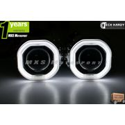 MXS916 Chevrolet Beat Headlight HID BI-XENON HALO Ring Square Projector