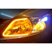 MXS2466 Audi-Style White-Amber DRL Daytime Running Light for Chevrolet Sail