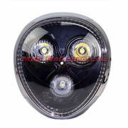 MXSHL420 Naked Monster Led Headlight Motorcycle