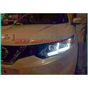 MXSHL439 Projector Headlights With Day Time Running Light Nissan Qashqai 2016