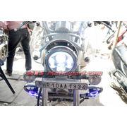 MXSHL482 Daymaker LED Monster Projector Headlight Bajaj Avenger Motorcycle