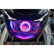 MXSHL532 Led Robotic Eye Projector Headlight Tvs Apache rtr new version