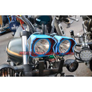 MXSORL136 LED Fog Lights Bajaj Avenger Motorcycle