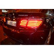MXSTL105 LED Tail Light Chevrolet Cruze Smoked Black Matrix Style