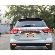 MXSTL109 Rear Bumper Reflector DRL LED Tail Lights Maruti Suzuki Vitara Brezza