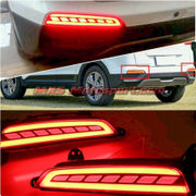 MXSTL72 Rear Bumper Reflector DRL LED Tail Lights  Hyundai Creta