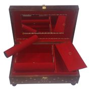 Wooden Bangle Stand & Jewelry Box