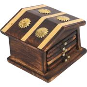 Onlineshoppee Traditional Coaster Set  Hut With Antique Design