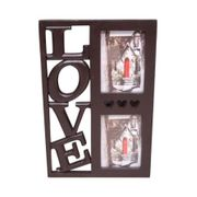 Onlineshoppee Wooden and Antique Wall Hanging Family Love Photo Frame 2 in 1