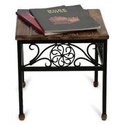 Onlineshoppee Wooden & Iron Table