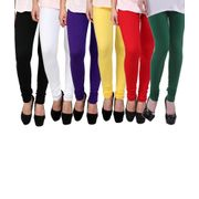 Onlineshoppee 6 Pc Stylish Legging Combo