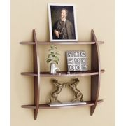 Onlineshoppee Beautiful  3 Tier MDF Wall Shelves/Rack Size LxBxH-20x4x19 Inch - Brown