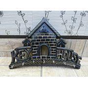 Onlineshoppee Big Wooden Wall Decor Key Holder House Key